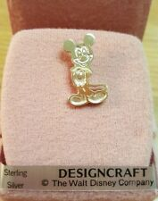 The Walt Disney Company DESIGNCRAFT Sterling Silver Mickey Mouse Pendant
