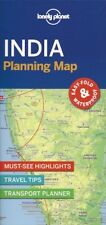 Lonely Planet India Planning Map *FREE SHIPPING - NEW*