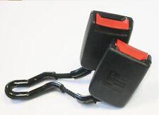 VW Golf Mk4 Rear Seat Belt Buckle Twin Rear Black Safety Belt 1J0 857 488 B