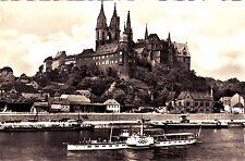 Meißen , Albrechtsburg und Dom, DDR , Ansichtskarte