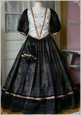 Westernkleid 46-50 Ballkleid 3 teilig Südstaaten Kleid Krinolinenkleid Civil War