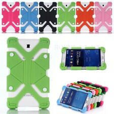 AU For Samsung Galaxy Tab A E S2 Tab 4 Kids Safe Shockproof Silicone Case Cover
