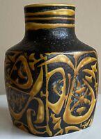 Vintage Royal Copenhagan Fajance Ceramic Vase Modern Denmark Birds Nils Thorsson