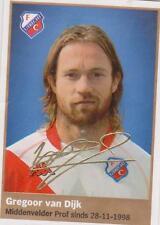 AH 2009/2010 Panini Like sticker 221 Gregoor van Dijk FC utrecht