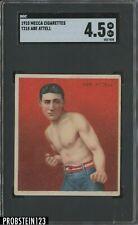 1910 T218 Mecca Cigarettes Boxing Abe Attell SGC 4.5 VG-EX+