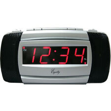 Equity by La Crosse 30240 Super Loud Led Alarm Clock. Shipping Included
