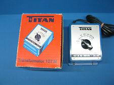 TITAN TRAFO 127 M Transformator. Märklin Modellbahnen Transformer Regler in OVP