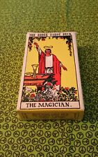 Pre-Owned Rider Waite Tarot Cards Deck No Copyright Date ~ Divination Pagan