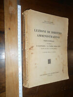 LIBRO -Forti Ugo (1878-1950) Lezioni di diritto amministrativo. Parte generale.
