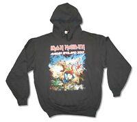 Iron Maiden England 2013 Mens Black Pullover Hoodie Sweatshirt New Official