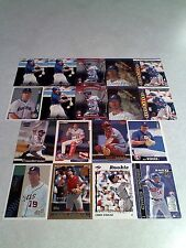 *****Chris Widger*****  Lot of 75 cards.....20 DIFFERENT