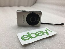 Canon PowerShot Digital ELPH SD1000 7.1MP Digital Camera - Silver FREE S/H