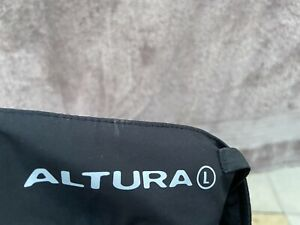 ALTURA REACT CYCLE SHORTS/CROP TROUSERS SIZE L 36W BLACK POLYESTER NEW NO TAG