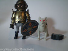 Special Playmobil figure - Wolf Clan - Medieval Castle Noble Knight 4809