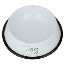 Comederos y bebederos de metal para perros