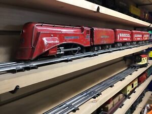 Lionel prewar red comet set o gage
