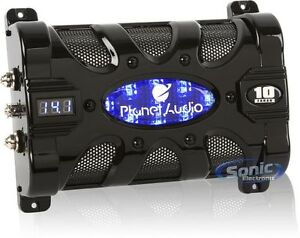 NEW PLANET AUDIO PC10F 10FARAD Car Audio Power Capacitor Cap Digital LED Display