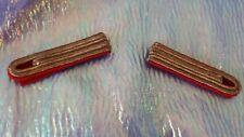 1 Paar Schulterstücken gold / rot für Garde Kostüm Karneval Accessoire 129123913