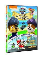 PAW PATROL LA PATRULLA Y EL TESORO DEL PIRATA DVD NUEVO ( SIN ABRIR )