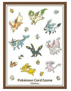 Eevee Heroes Eeveelution Pokemon Center Exclusive Anime Card Sleeves *NEW* 64ct