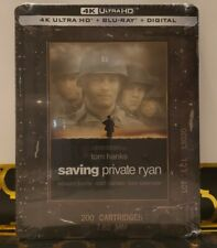 Saving Private Ryan 4K Uhd + Blu-Ray + Digital Rare Steelbook 2020 Sealed