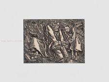 ERNST BARLACH - MEN IN GRAVES * RARE PRINT *  in stable antique white mount