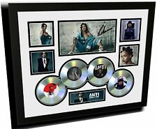 RIHANNA 2016 ANTI ALBUM SIGNED LIMITED EDITION FRAMED MEMORABILIA