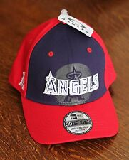 Oakley Los Angeles Anaheim Angels Navy Red Baseball Hat Cap Mens Size S/M - NEW!