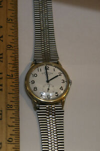 BW Raymond Elgin Men's Wristwatch - 10K Gold Filled Case - not running  JSH