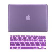 "2 in1 Hot PURPLE Rubberized Case fr Macbook Pro15"" A1398 / Retina display + Key"