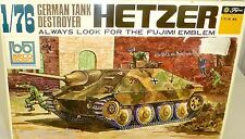 HETZER German Tank Destroyer Fujimi WA5 1:76 LF4 å