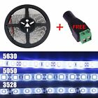 5M Waterproof 3528 5050 5630 Warm Cool White 300led SMD LED Fairy Strip Light