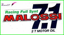 Ancien Autocollant Stickers Racing Full Synt MALOSSI 7.1