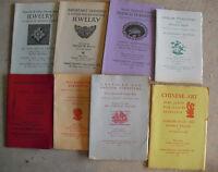 Lot of 8 Vintage 1960s Parke Bernet Galleries Auction Catalogs