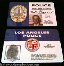 "Bill Gannon ""DRAGNET"" 60's Tv Show ID Card NEW"