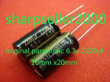20pc Panasonic 6.3V 2200uF Scheda Madre Condensatore JAPAN NUOVO