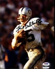 Fred Biletnikoff Raiders Hof Signed Psa/dna  8x10 Photo Autograph Authentic