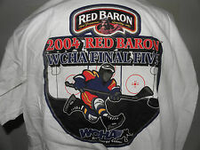 New WCHA 2004 Red Baron Final Five Logo T-Shirt Size XL (NWOT)
