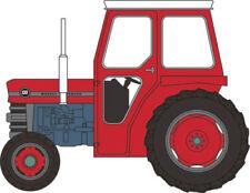 Tracteurs miniatures rouge moulé sous pression