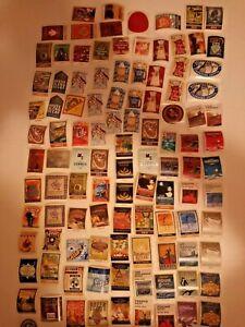 100+ Old Vintage STARBUCKS Coffee Labels Unused Stickers  Lot