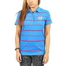 Women's Puma Race Stripe Polo French Blue Volvo Ocean Race Size S $50