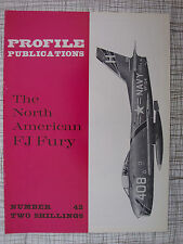 Profile # 42 North American FJ Fury :Colour Schemes, US Marine Corps, Swept Wing