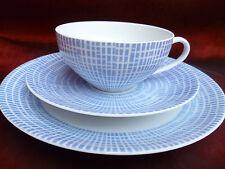 Arzberg Bastdekor  Form 2000   Tee - Gedeck in  Azurblau  schöner Zustand!