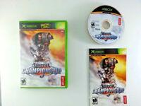Unreal Championship MINT DISC Microsoft Xbox Complete CIB NTSC Video Game Gaming