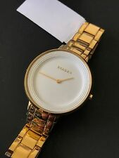 Skagen Ditte Watch SKW2330 Womens Gold Stainless Steel Bracelet White Dial NWT