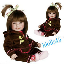 "Adora 20"" Toddler Workout Chic Doll Brown hair brown eyes"