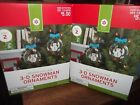 Christmas Ornaments Craft Kits Set of Two