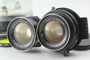 [MINT w/ case] Mamiya Sekor 55mm f/4.5 TLR Lens for C330 C220 C33 C22 From JAPAN
