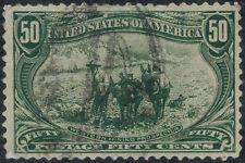 TMM* 1898 US Stamp Trans Miss Expo Scott #291 VF used/light hinge/medium cancel