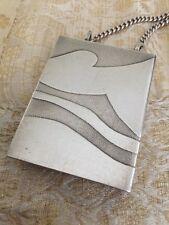 Stan Plotner Limited Edition Sterling Silver Locket Female Nude Chain Necklace